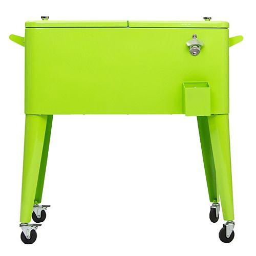 Permasteel Patio Coolers-80 QT - Lime