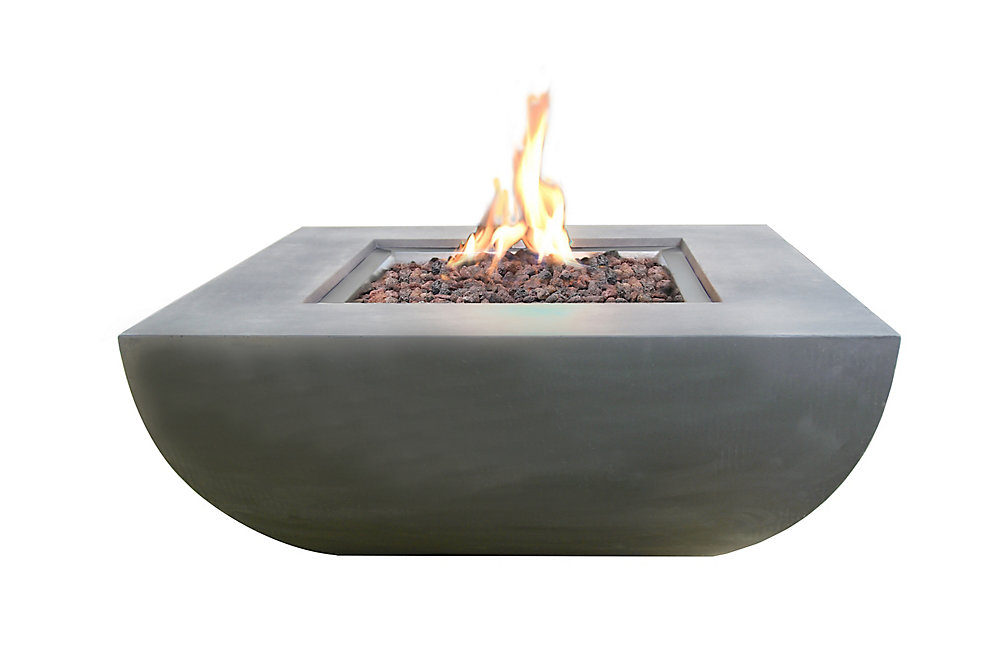 Modeno Westport Fire Table Liquid Propane The Home Depot