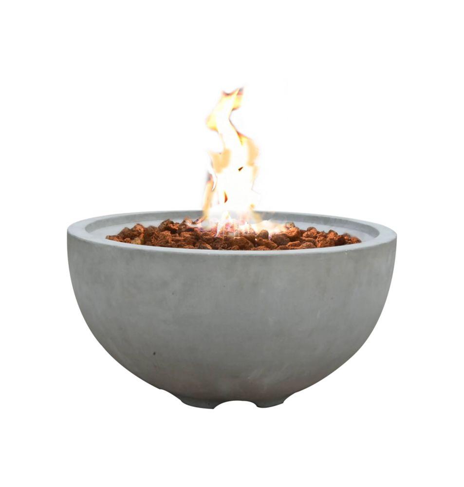 Modeno Nantucket Fire Bowl Natural Gas The Home Depot Canada