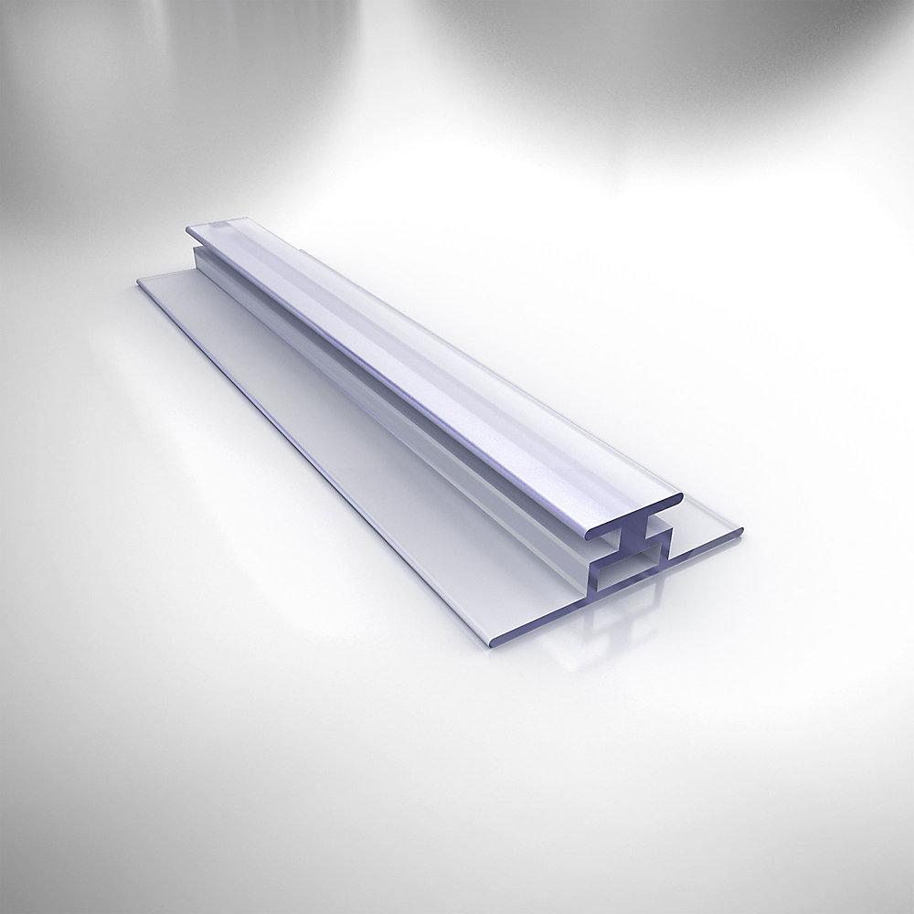 JT036, Vinyle Clair insérer, 138.75 cm. Longueur, pour 0.64 cm. (6 mm) Porte de Douche