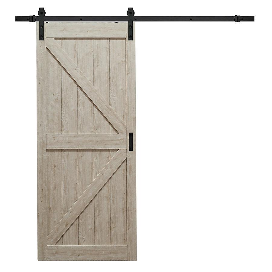 Truporte 36 Inch X 84 Inch Sandstone K Design Rustic Barn