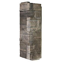 Novik NovikStone DS - Dry Stack Stone in Flint - Corner (6.30 Ln. Ft. / box)
