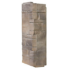 Stone DS - Dry Stack Stone in Limestone - Coin (6.30 Ln. Pieds / boîte)