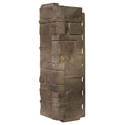 Novik Stone DS - Dry Stack Stone in Brownstone - Coin (6.30 Ln. Pieds / boîte)