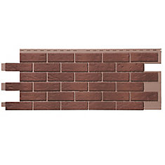 Stone HL - Brique posée à la main en mélange utilisé rouge (46 pi2 / boîte)