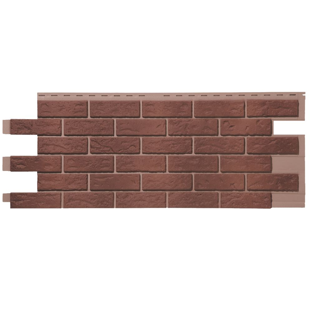 Novik NovikStone HL - Hand-Laid Brick in Red Used Blend (46 Square Feet / Box)