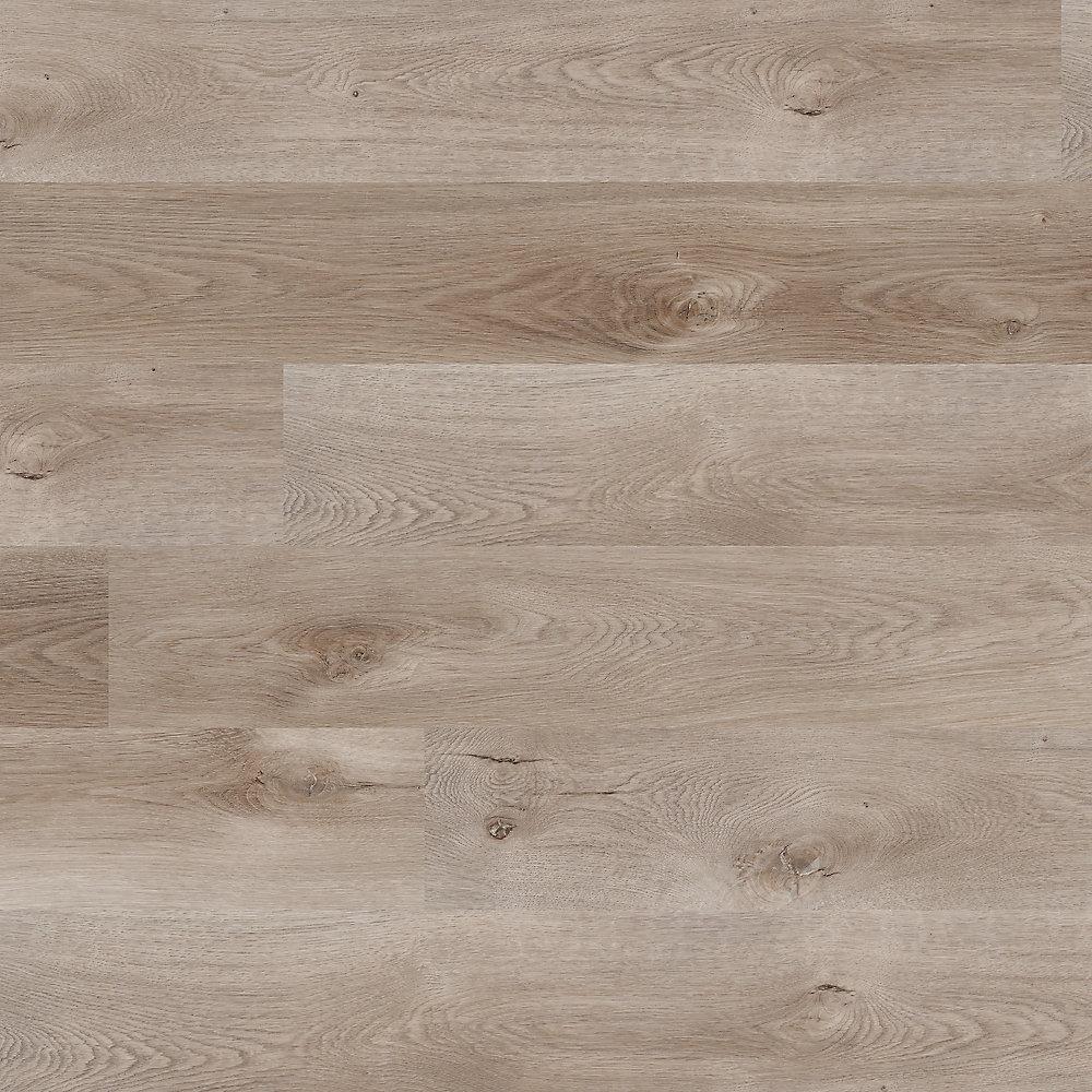Davon Grey 7-inch x 48-inch Luxury Vinyl Plank Flooring (23 77 sq  ft  /  Case)