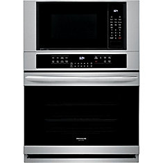30-inch Electric Wall Oven & Microwave with True Convection in Smudge-Proof® Stainless Steel