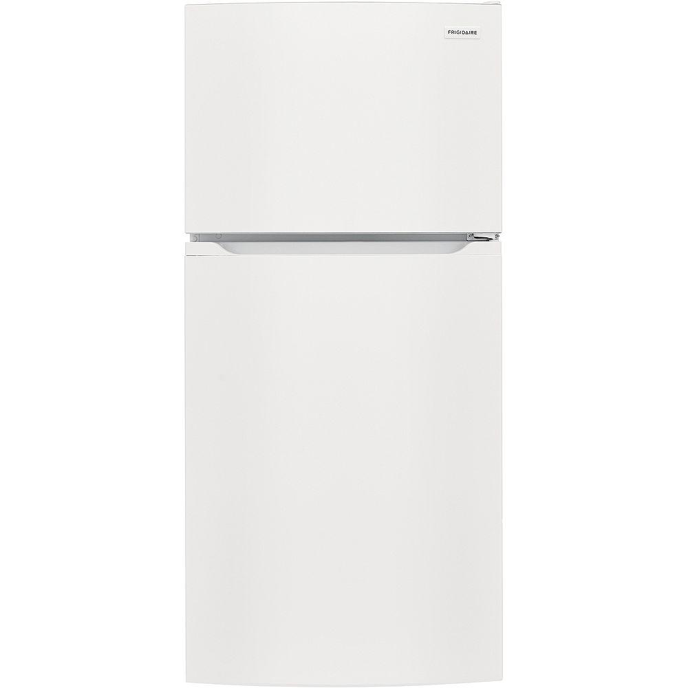 Frigidaire 28-inch W 13.9 cu. ft. Top Freezer Refrigerator in White - ENERGY STAR®