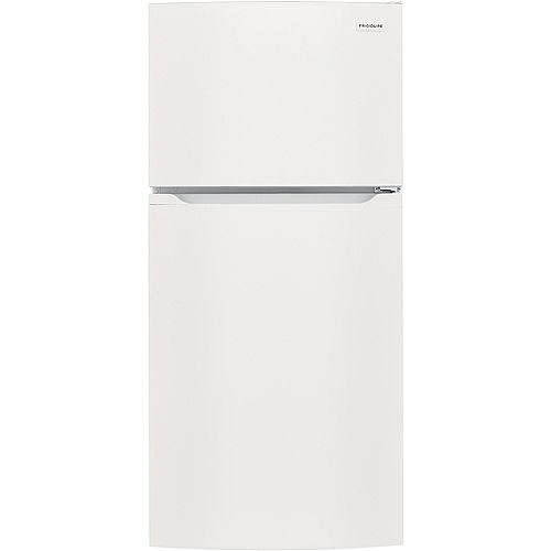 Frigidaire 28-inch W 13.9 cu. ft. Top Freezer Refrigerator in White - ENERGY STAR®