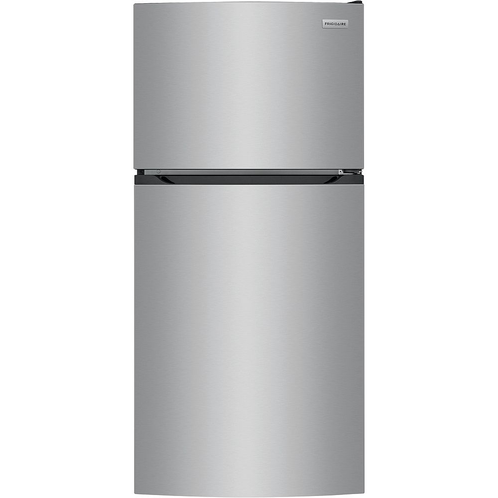 Frigidaire 28-inch W 13.9 cu. ft. Top Freezer Refrigerator in Stainless Look - ENERGY STAR®