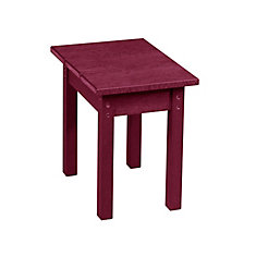 Small Rectangular Table Bordeaux