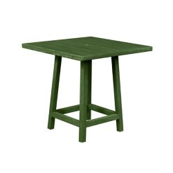 Captiva Casual Square 40 inch Pub Table with 40 inch Legs Cactus Green