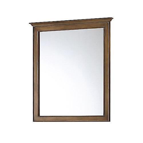 Miroir Clinton, couleur café antique