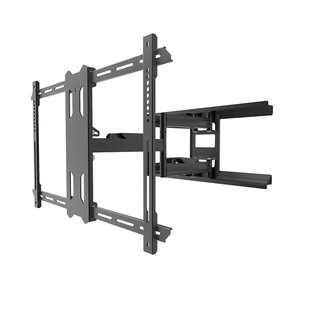 Kanto Outdoor Full Motion Mount for 37-inch to 75-inch TVs, Black