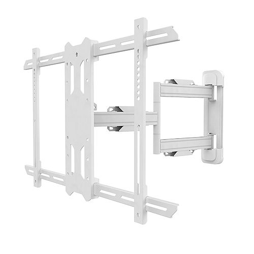 Kanto Full Motion Mount for 37-inch to 60-inch TVs, White