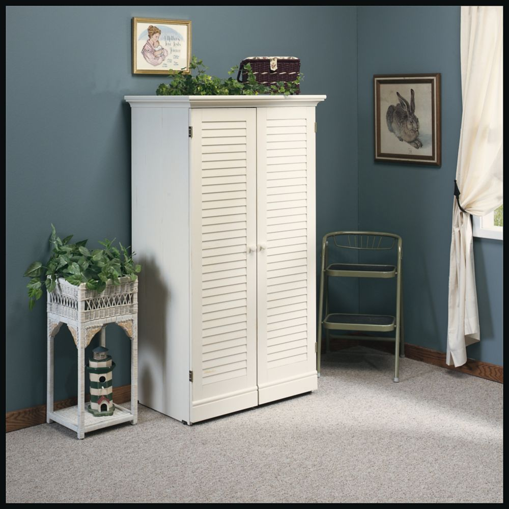 Sauder Woodworking Company Harbor View Craft Armoire In