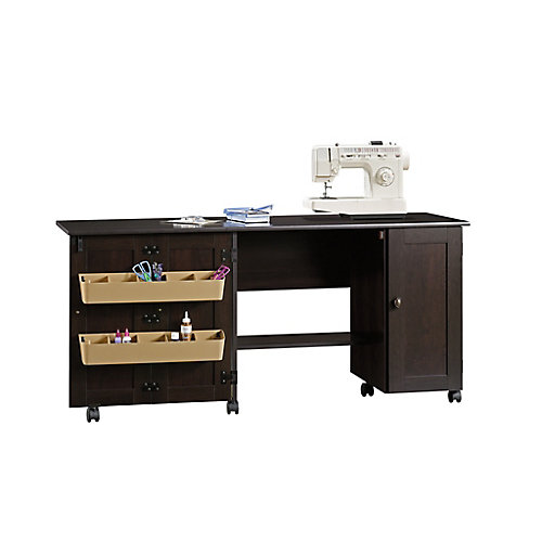 Sewing Craft Cart in Cinnamon Cherry