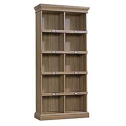 Sauder Woodworking Company Barrister Lane Tall Bookcase in Salt Oak