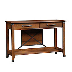 Carson Forge Sofa Table in Washingon Cherry