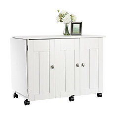 Sewing/craft Cart in Soft White