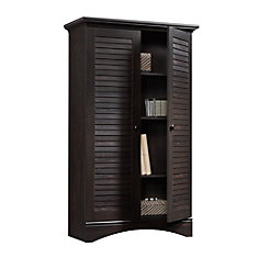 Harbor View Storage Cabinet in Antiqued Paint