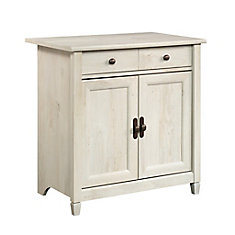 Edge Water Utility Cart/stand in Chalked Chestnut