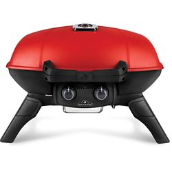Napoleon TravelQ 285 Portable Propane Gas Grill with Griddle