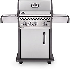 Rogue 425 Propane Gas Grill with Range Side Burner