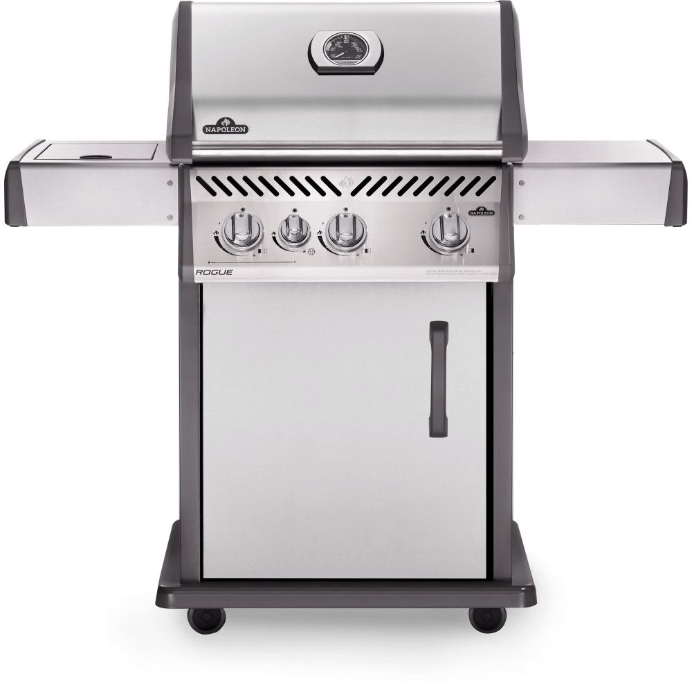 Napoleon Rogue 425 Natural Gas Grill with Range Side Burner
