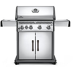 Rogue 525 Natural Gas Grill with Range Side Burner