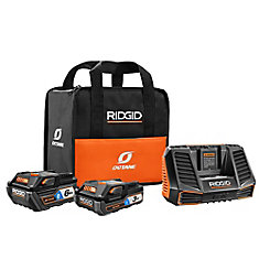 18V OCTANE Lithium-Ion Bluetooth 3.0 Ah and 6.0 Ah Battery Starter Kit with Charger