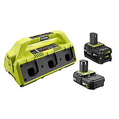 18V ONE+ Battery 2-Pack and SUPERCHARGER Kit