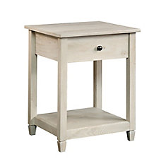 Edge Water Side Table in Chalked Chestnut