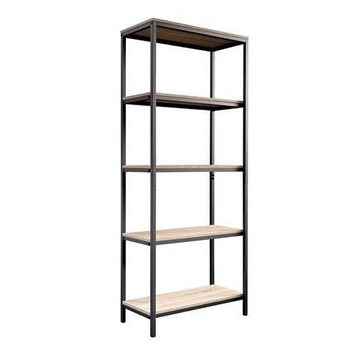 Sauder Woodworking Company North Avenue Tall Bookcase in Charter Oak