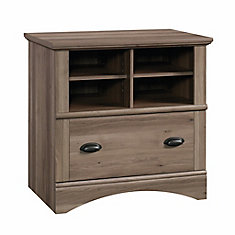 Harbor View Lateral File in Salt Oak