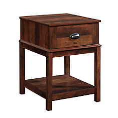 Harbor View Smart Center Side Table in Curado Cherry