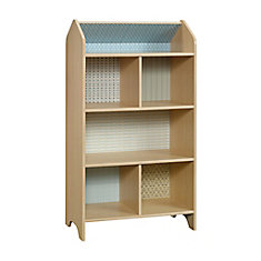 Pinwheel Dollhouse Bookcase in Urban Ash