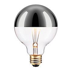 40W Silver Designer Vintage Edison Chromeo Incandescent Light Bulb