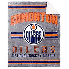 Edmonton Oilers Superlux/Sherpa