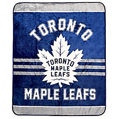 Toronto Maple Leafs Luxury Velour Blanket