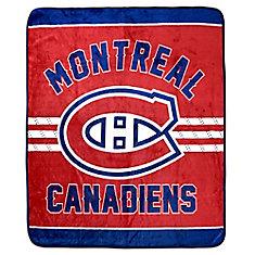 Montreal Canadiens Luxury Velour Blanket