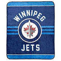 Winnipeg Jets Luxury Velour Blanket