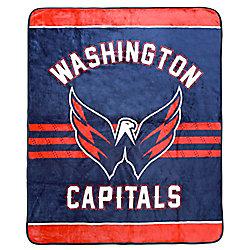 NHL Washington Capitals Luxury Velour Blanket
