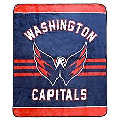Washington Capitals Luxury Velour Blanket