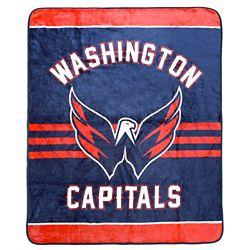 NHL Couverture velours de luxe LNH - Capitals de Washington