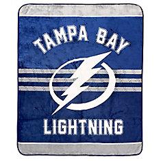 Tampa Bay Lightning Luxury Velour Blanket