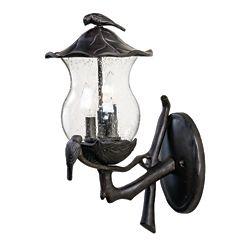Acclaim Luminaire mural extérieur à 3 ampoules de la Collection Avian avec verre clair à alvéoles