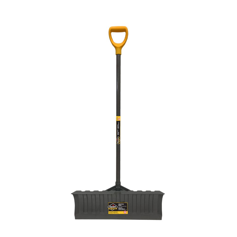 Pro Series 21-inch Large Polypro Blade Snow Pusher, Resists to Wear for Intensive Use