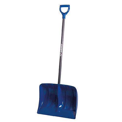Garant 19-inch High Capacity Poly Blade Snow Shovel with Non-Slip Steel Handle